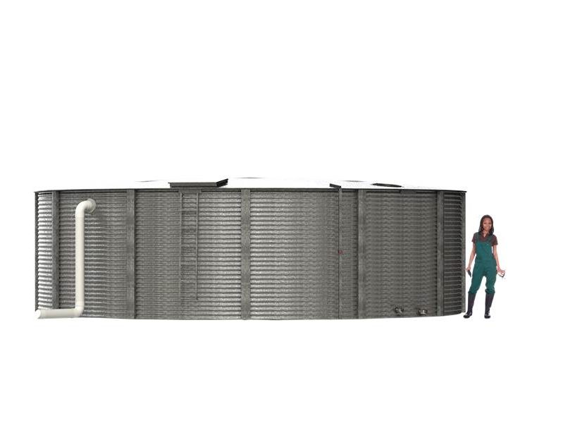 28,000 Gallon Fire Water Storage Tank